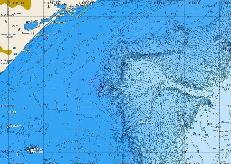 Cmap bathymetric charts