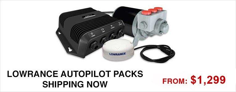Lowrance Autopilot Packs