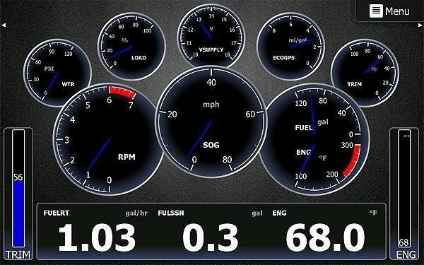 Lowrance  Yamaha Engine Interface