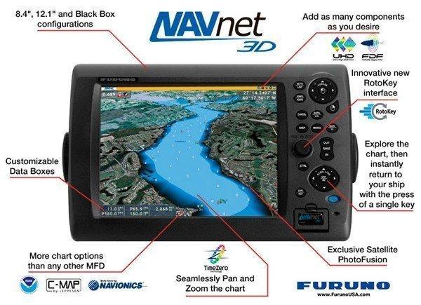 Furuno Navnet 3d Mfd8 Multi Function Display