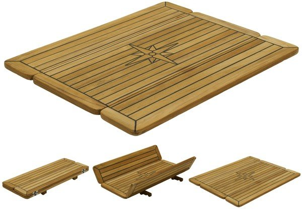 Teak Folding Rectangular Wing Table Tops