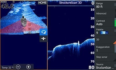 Leading Edge scanning reference includes a depth scale and also gives a better sense of target depth.