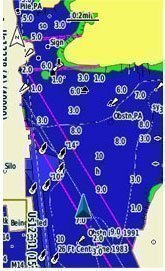 Garmin Detailed Blue Chart Maps included for All Australia & New Zealand