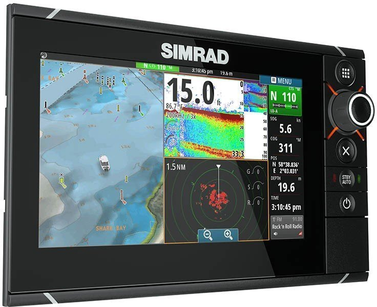 Simrad Nss7 Evo2 Combo Fishfinder Amp Gps Chartplotter Combo