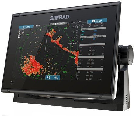 Simrad go9 xse downscan combo for Simrad fish finder