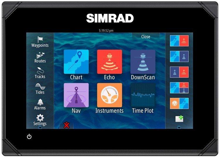 Simrad Go7 Chartplotter  U0026 Xl50 Gold Map Combo