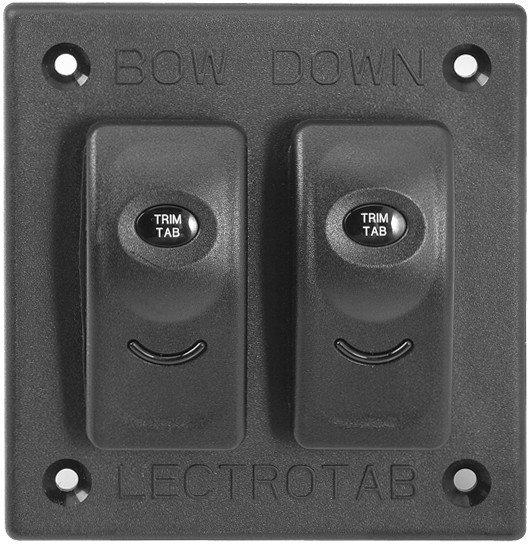 Trim Tab Installation : Lectrotab stainless steel plate trim tab kits
