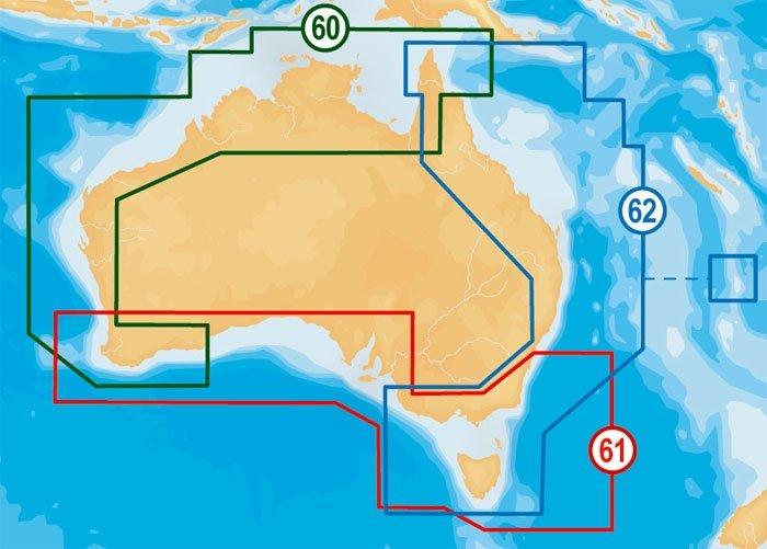 Navionics Platinum XL3 Zones - Click here for full details
