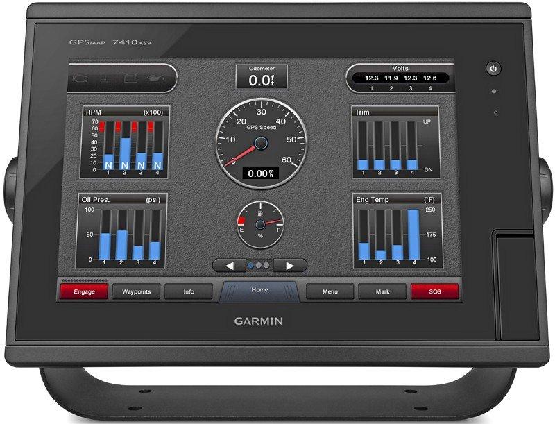 Garmin GPSMAP 7410xsv Combo