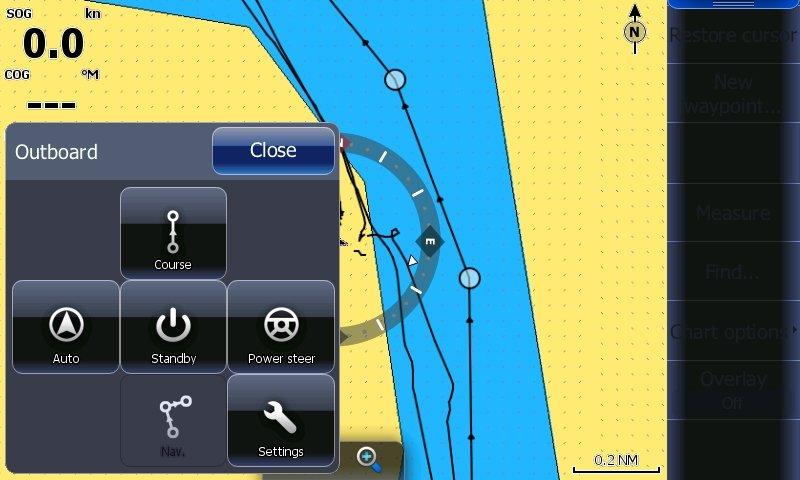 Smart Steer User Interface