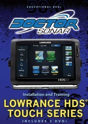 Lowrance HDS Touch DVD $29.95