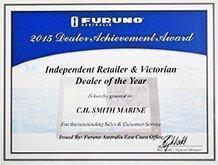 Furuno 2015 Award
