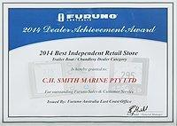 Furuno 2014 Award