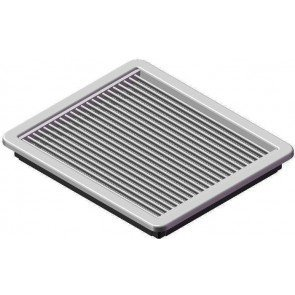Plastic Grille available with fixed or adjustable blades