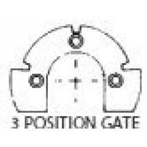 "B83 Gate Plate Kit - 4"" 3 Position"