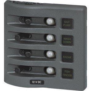 ELB208 - 109.22mmH x 107.95mmW x 88.9mmD