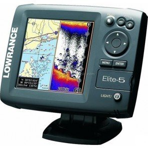 Lowrance Elite 5 Fishfinder/Plotter