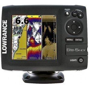 Lowrance Elite 5 HDI Fishfinder/Plotter