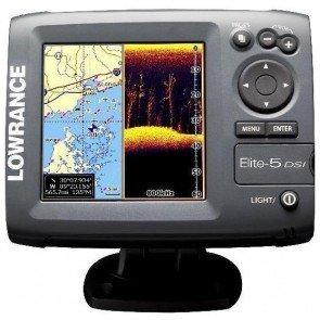 Lowrance Elite 5 DSI Fishfinder/Plotter