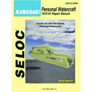 Sierra Seloc Repair Manual Kawasaki PWC 73-91 - No. 18-09200