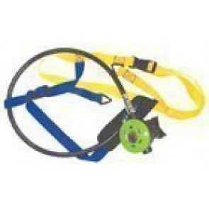 Power Dive Deck Snorkel - Replacement Regulator, Harness & Hose - 25psi
