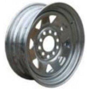 "Dunbier Galvanised Multi-fit Steel Rim and Tyres - 14"" - Rim Only"